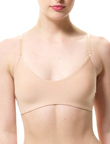 Commando BRA209 Butter Bralette True Nude