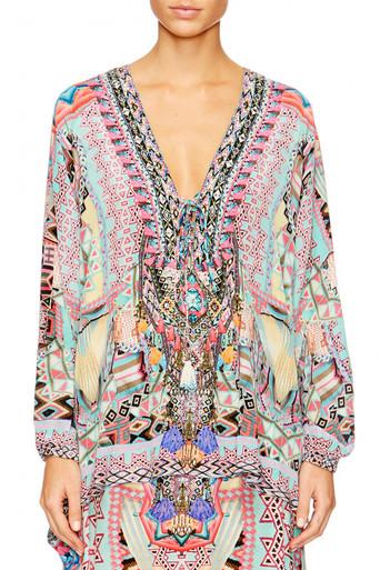 Camilla Mochilla Chiller Lace Up Shirt