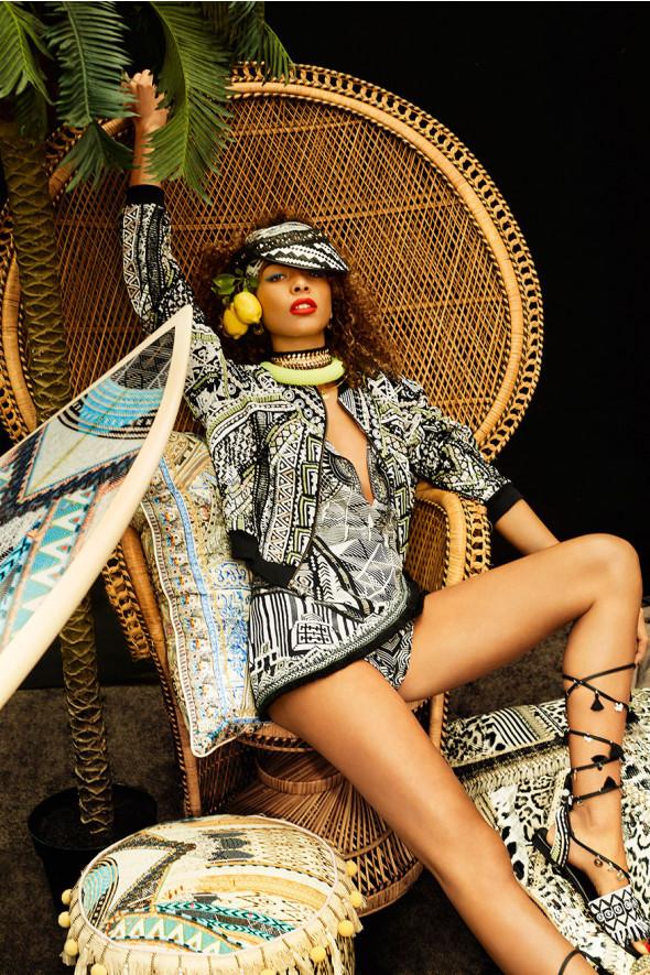 c3e4401c8b3 Camilla Raise Your Glass Drop Shoulder Playsuit