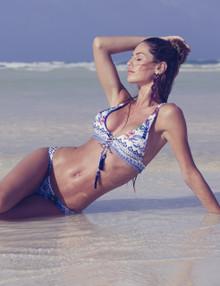 Agua Bendita Skyflower Vera 383 Zoe 384 Bikini Set