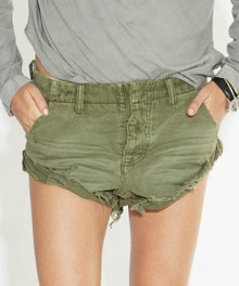 One Teaspoon Cutoff Shorts Militaire Drill Sailors
