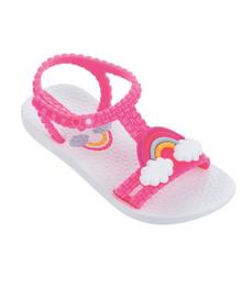 2018 Ipanema Rainbow Baby Sandal White Pink