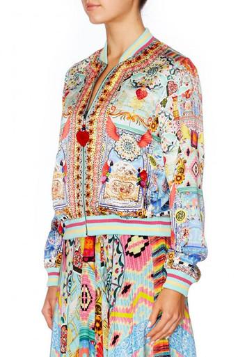 Camilla Close to My Heart Bomber Jacket