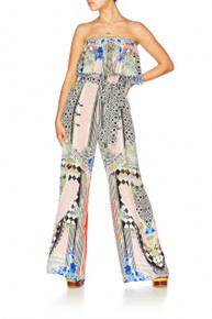 Camilla Meet Me Here Strapless Jumpsuit with Frill