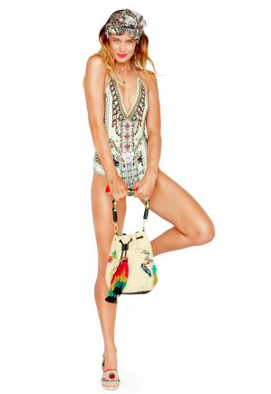 Camilla Spell Bound Crochet Edge One Piece Swimsuit