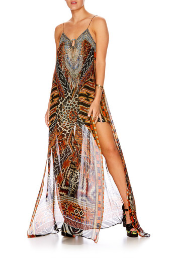 Camilla Dawn of Time U Ring Long Dress
