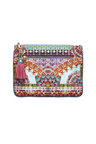 Camilla Sisters of the Marigold Small Canvas Clutch