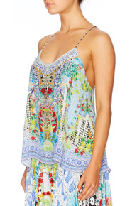 Camilla Spellbound T Back Shoestring Top