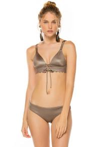2018 Agua Bendita Camelia Story Palette Mia Zoe Bikini Set