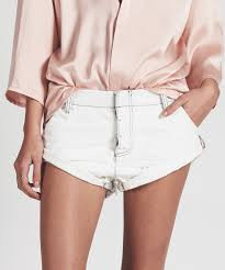 One Teaspoon Cutoff Shorts Sailors Coconut