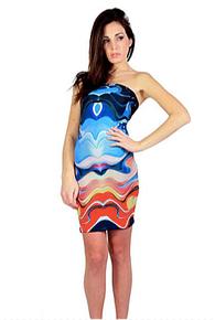 Letube Mare Blu Convertible Tube Dress