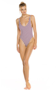 2019 Agua Bendita Jasmine Collection  Francesca Palette One Piece Swimsuit