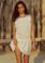 2019 Agua Bendita Jasmine Collection  Layla Crop Top