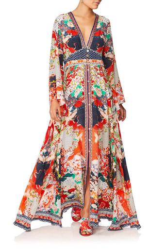 Camilla Geisha Girl Kimono Sleeve Dress
