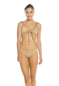 2019 Agua Bendita Wisteria Palette Grace Lola Bikini Set Nude