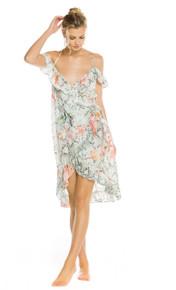 2019 Agua Bendita Cobra Story Rose Dress