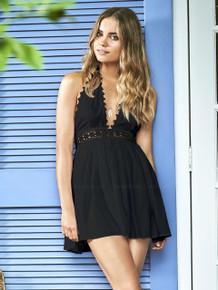 Pilyq City Of Stars Celeste Dress Black