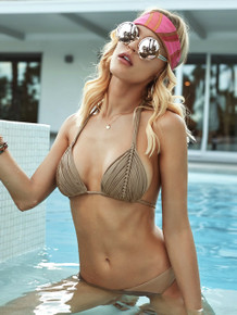 PilyQ Isla Bikini Set Sand