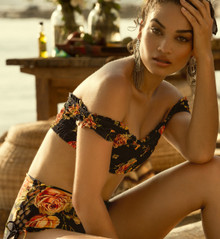 2019 Agua Bendita Provence Story Celia Hope Bikini Set Navy
