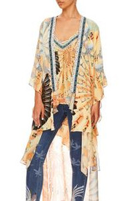 Camilla Kimono with Long Underlay For the Fans