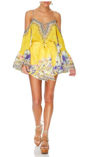 Camilla Tie Detail High Cut Shorts Mellow Muse