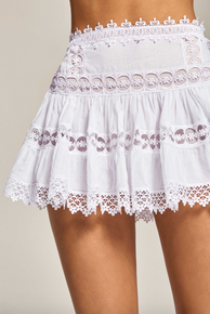 Charo Ruiz Ibiza Greta Skirt White