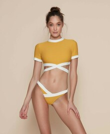 Kopper and Zink Swimwear Harley Pant Turmeric