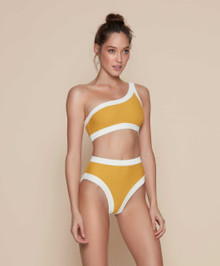 Kopper and Zink Swimwear Marley Top Turmeric