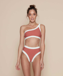 Kopper and Zink Swimwear Marley Taylor Bikini Set Marsala (view)
