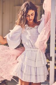 Love Shack Fancy Dorothy Dress White