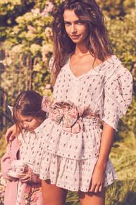 Love Shack Fancy Marissa Dress Garden Multi
