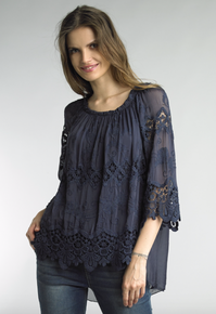 Tempo Paris 7616M Top Navy