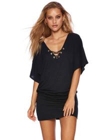 Beach Bunny Swimwear Gia Dress Black
