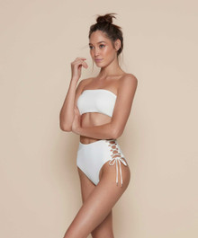 Kopper and Zink Taylor Romeo Bikini Set Cream