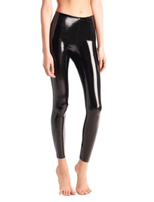 Commando Perfect Control Faux Patent Leather Legging SLG25 Black