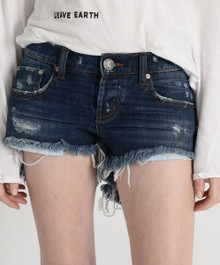 One Teaspoon Cutoff Shorts Blue Moon Bonita