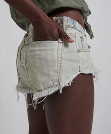One Teaspoon Cutoff Shorts Old Gold NO 2S