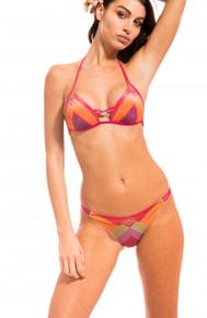 Pin-Up Stars Padded Push Up Bikini Set