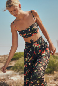 2019 Agua Bendita Candy Story Mariana Crop Top