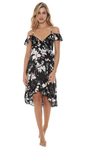 2019 Agua Bendita Nightfall Rose Dress