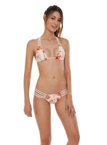 2019 Agua Bendita Cocoa Story Eva Sophia Bikini Set