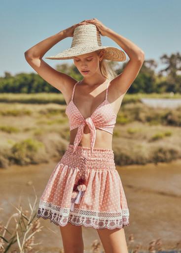2019 Agua Bendita Palm Springs Story Whitney Skirt