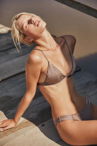 2019 Agua Bendita Palm Springs Story Lisa Polly Bikini Set