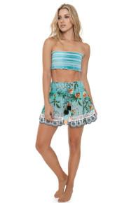 2019 Agua Bendita Pistacchio Story Whitney Skirt