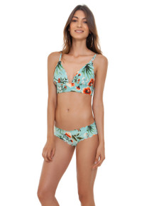 2019 Agua Bendita Pistacchio Story Phoebe Charlotte Bikini Set