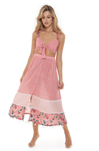 2019 Agua Bendita Cotton Candy Story Karen Dress