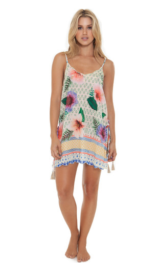 2019 Agua Bendita Pastel Tropic Story Felicia Dress