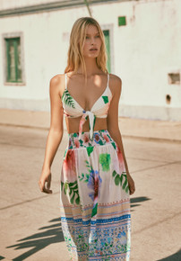 2019 Agua Bendita Pastel Tropic Story Eleonor Skirt