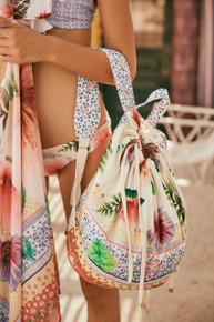2019 Agua Bendita Pastel Tropic Story Sarah Bag