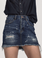 One Teaspoon 2020 High Waist Denim Mini Skirt Blue Moon
